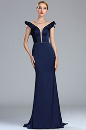 eDressit Navy Blue Vintage Mermaid Formal Occasion Dress (02174605)