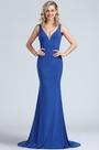 eDressit Persian Blue Sleeveless Long Maternity Prom Dress (00174405)