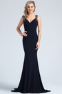 eDressit Navy Blue Beaded Prom Mermaid Dress (36173505)