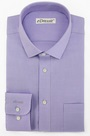 eDressit Custom Non-iron 100% Cotton Lavender Dress Shirt (29180206)