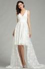 eDressit White Lace Designer Beach Wedding Dress (01180207)