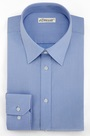 eDressit Custom Non-iron 100% Cotton Blue Dress Shirt (29180105)