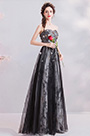 eDressit Sexy Corset Black Floral Party Evening Ball Dress (36212000)
