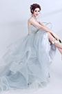 eDressit Light Blue Beaded Layer  Tulle Women Wedding Dress (36190232)