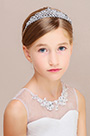 eDressit Shiny Beads Girl Children Headwear Hair Hoop  (13190726)