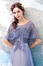 eDressit Lila Cape Embroidery Beaded Evening Gown Party Dress (36190506)