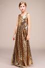 eDressit Gold Long Princess Party Stage Flower Girl Dress (27191724)