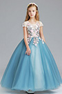 eDressit Princess Blue Children Wedding Flower Girl Dress (27198605)