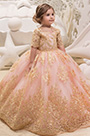 eDressit Chic Empire Pink Girls Wedding Ball Dress (27195401)
