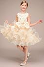 eDressit Handmade Beadings Rose Skirt Flower Girl Midi Dress(27193814)