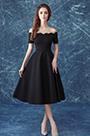 eDressit Elegant Off-Shoulder Black Women Party Dress (35190600)