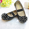 eDressit Black Girl's Round Toe Leather Flat Flower Girl Shoes (250006)