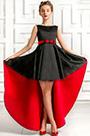 eDressit Black / Red Sleeveless Wedding Flower Girl Dress (27195900)