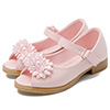 eDressit Open Toe Leather Flat Flower Girl's Sandals Shoes (250031)