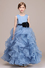 eDressit Baby Blue Multi-layer Sleeveless Flower Girl Dress (27193505)