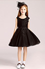eDressit Short Black Princess Party Stage Flowergirl Dress (28194300)