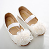 eDressit Girl's Round Toe Leather Flat Flower Dance Shoes (250010)