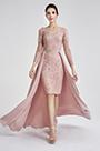 eDressit Pink Elegant Lace Detachable Lady Evening Dress (02190846)