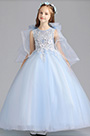 eDressit Princess Blue Children Wedding Flower Girl Dress (27201605)