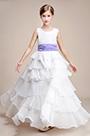 eDressit White Multi-layer Wedding Flower Girl Party Dress (27193807)