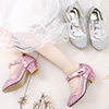 New Lovely Round Toe Leather Flower Girl Shoes (250043)