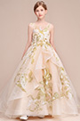 eDressit Elegant Long Train Wedding Flower Girl Dress (27194414)