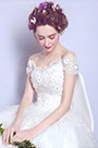 eDressit Sexy White Cap Sleeves Wedding Bridal Dress (36208107)