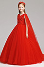 eDressit Red Long Children Wedding Flower Girl Dress (27197702)