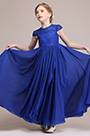 eDressit  A-line Short Sleeves Flower Girl Dress (27194305)