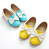 eDressit Girl's Closed Toe Leather Flat Buckle Flower Shoes (250014)