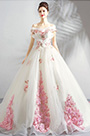 eDressit White Off Shoulder Long Formal Wedding Dress (36209207)