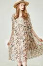 eDressit Chic Women Silk Printed Dress Summer Dress (30195068)