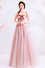 eDressit Corset Bowtie Design Embroidery Tulle Ball Prom Dress (36197346)