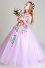 eDressit Long Handmade Wedding Flower Girl Party Dress (27197806)