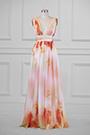 eDressit Plunging V-Cut Strap Print Floral Evening Dress (00183168E)