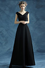 eDressit New Classic Black V-cut Evening Prom Dress (36196300)