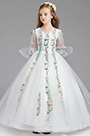 eDressit White Long Flower Girl Wedding Party Dress (27197307)