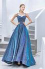 eDressit Blue Spaghetti Sparkle Elegant Sleeves Party Prom Dress (36213405)
