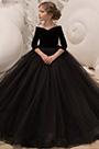 eDressit Black Off Shoulder Empire Wedding Flower Girl Dress (27195300)