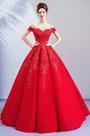 eDressit Empire Red Off Shoulder Evening Dress Prom Dress (36221502)