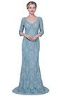 eDressit New V-Cut Sleeves Lace Applique Mother Evenig Dress (26192505)