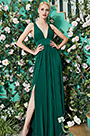 eDressit 2020 New Green V-Cut Bridesmaid Dress Evening Gown (07200304)