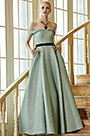 eDressit New Shiny Green Off Shoulder Elegant Party Ball Gown (02201704)