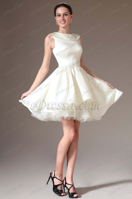 Маленькое платье для подружки невесты