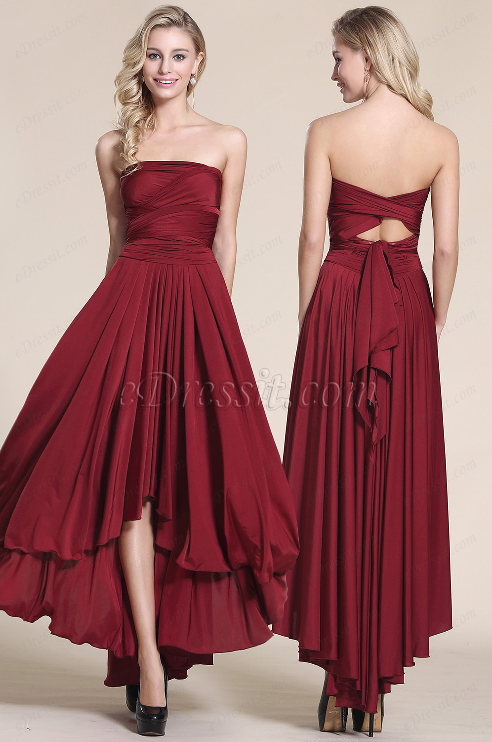 Edressit convertible high low bridesmaid dress prom dress 07154617 ombrellifo Image collections