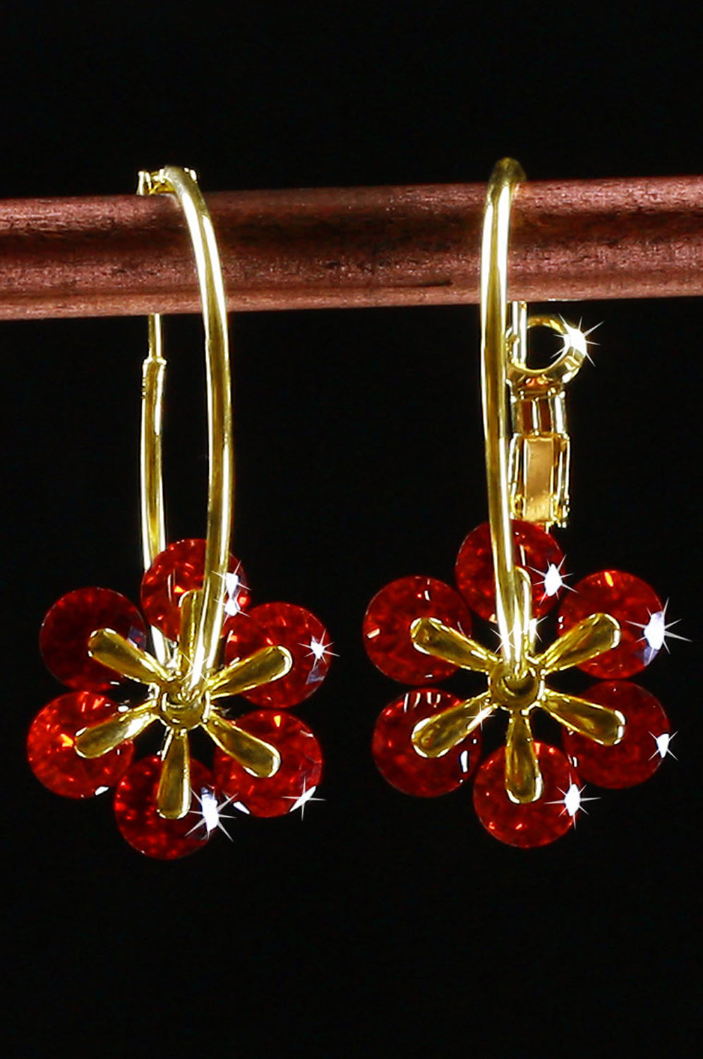eDressit New Brightly Flower Shape earring (11090402)