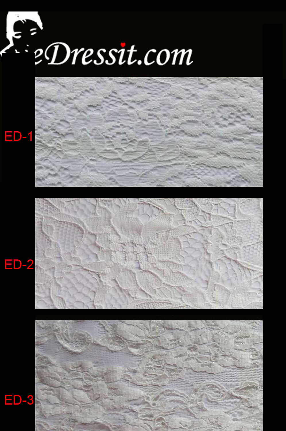eDressit Lace Fabric (EDlace-5)