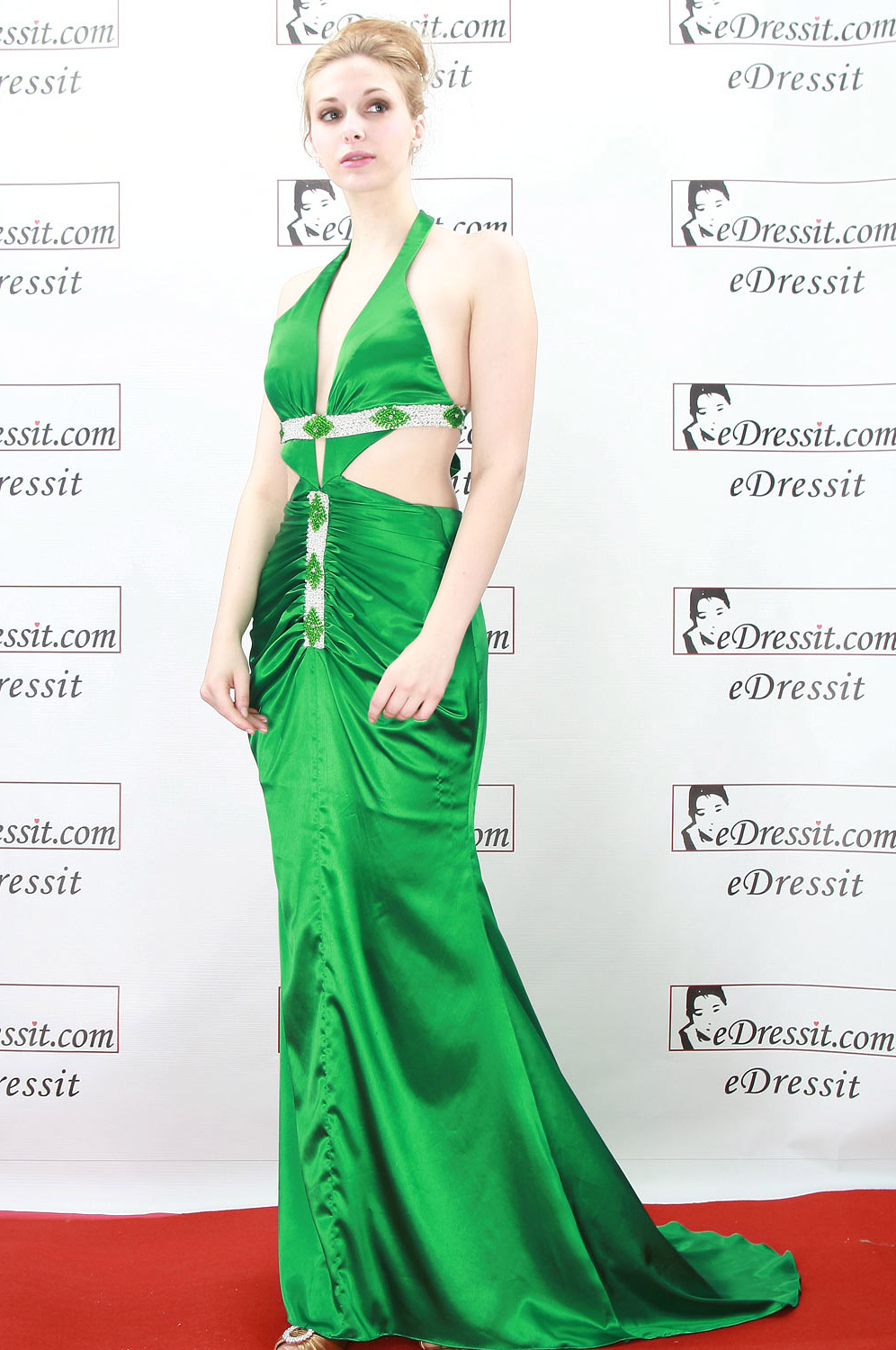 eDressit Green Sexy Ball Prom Gown Evening Dress (00773504)