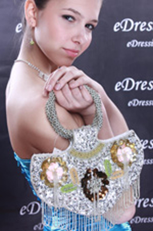 eDressit Silver Women's Handbag/Purse (08090126)