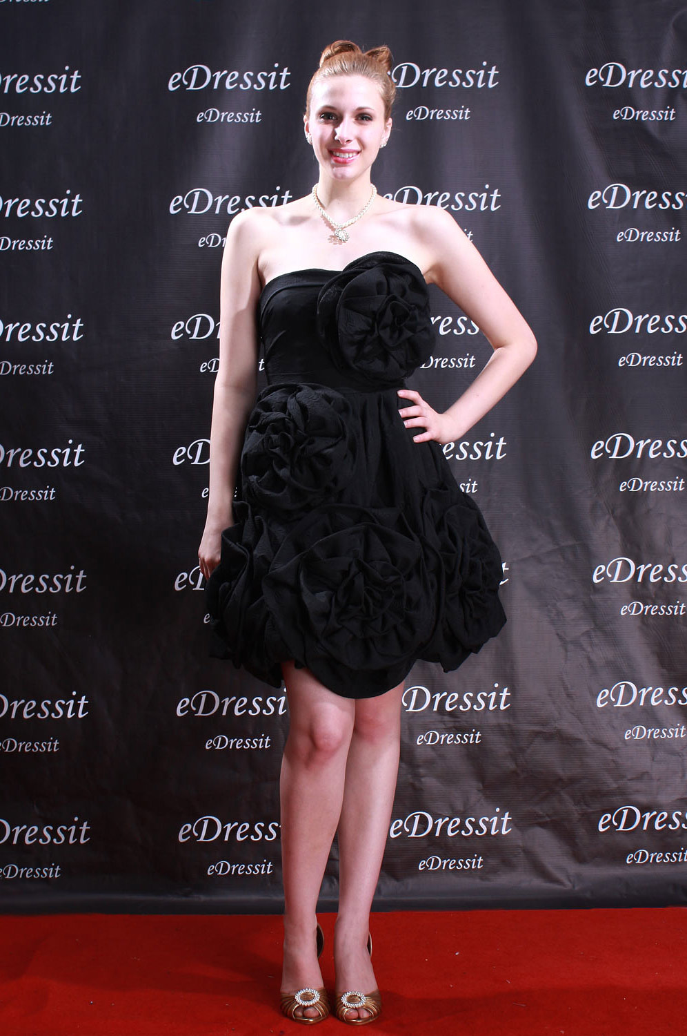 eDressit New Black Cocktail Party Dress Skirt (04040500)
